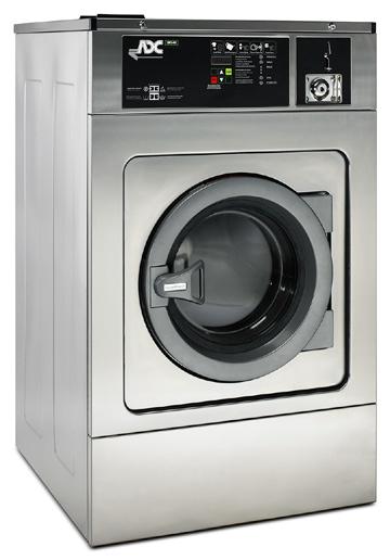 EWS40M2  | Lavadora American Dryer con moneda Serie EcoWash 100GF | Lavadoras American Dryer con Monedas – Serie EcoWash | Hi-Wash - Soluciones de Lavado, Secado y Planchado